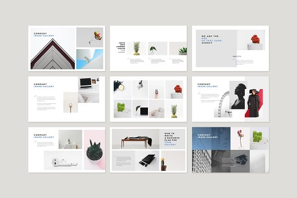 Enter Minimalist PowerPoint Template in PowerPoint Templates - product preview 12