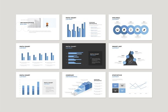 Enter Minimalist PowerPoint Template in PowerPoint Templates - product preview 13