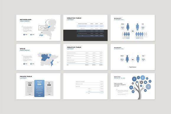 Enter Minimalist PowerPoint Template in PowerPoint Templates - product preview 17