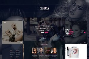 Fashion Semona - an Art Template