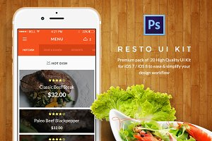 Food & Resto UI Kit