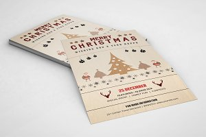 Christmas Party Invitation-V102