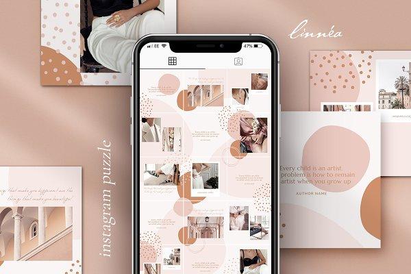 Linnéa Instagram puzzle | CANVA