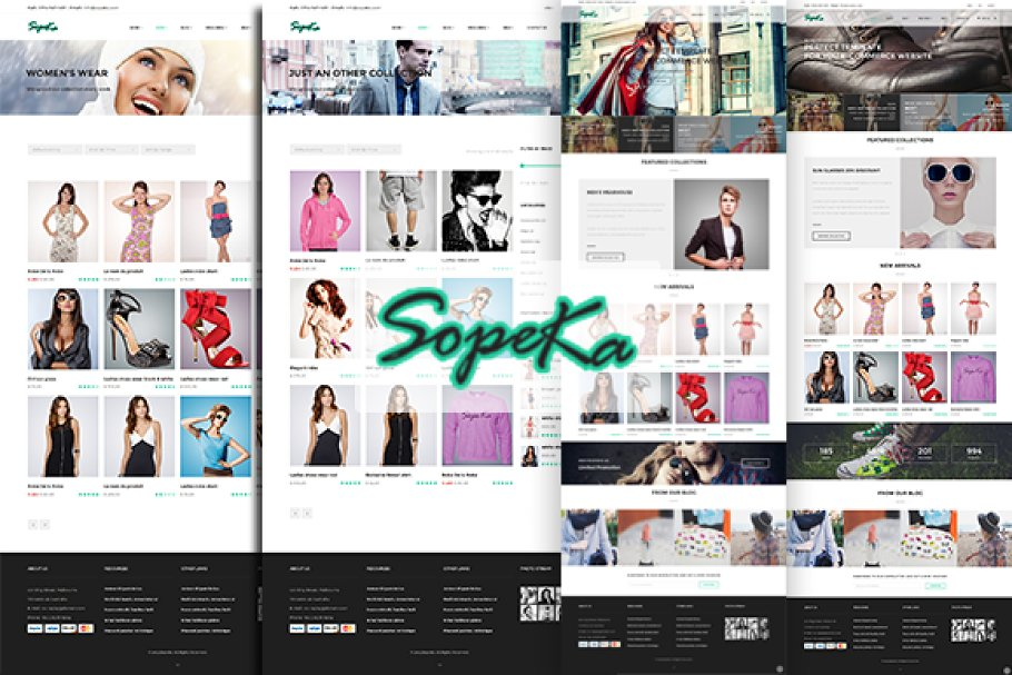 11 Boutique Website Themes & Templates