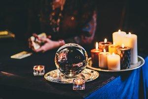 Halloween crystal ball