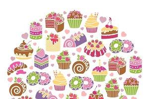 Cakes emblem