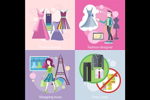 Fashion Designer Design, Shopping