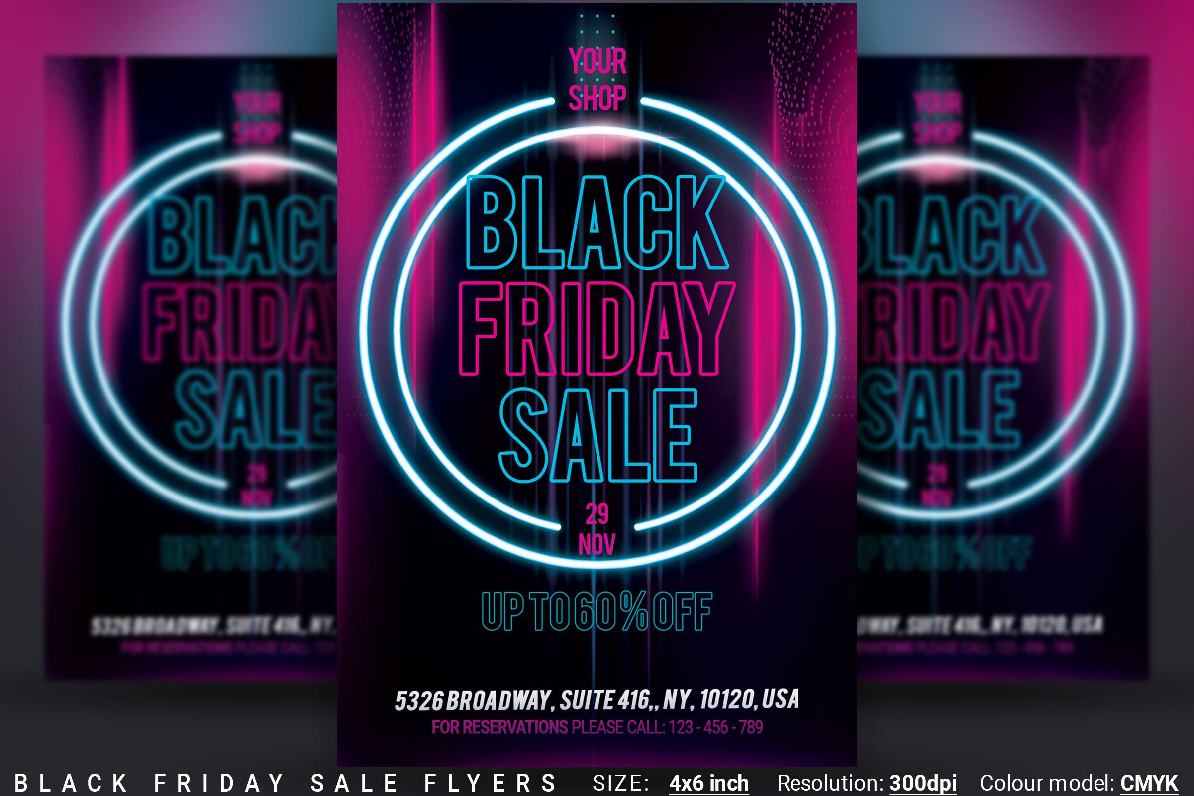 Black Friday Sale Flyers Creative Daddy