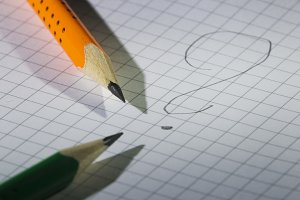 Two pencil and notebook