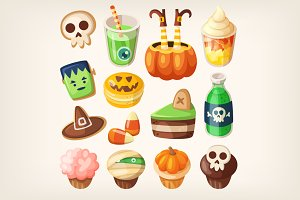 Halloween treats.