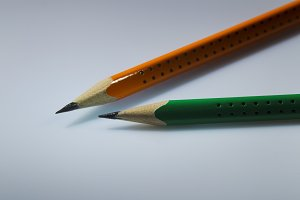 Two pencil