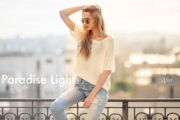Paradise Light - Lightroom Preset