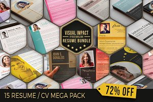 Impact Maker: Resume Mega Pack