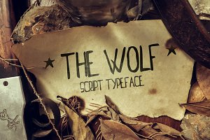 The Wolf Script Typeface
