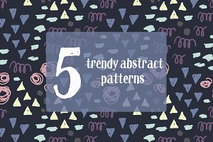 Fun Abstract Patterns Set