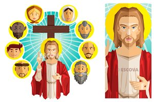 All Saints Day Illustration