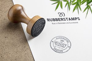 20 Rubber Stamps Vol. 2