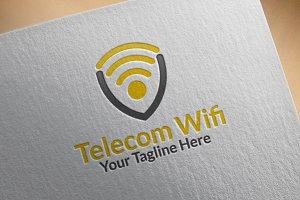 Telecom Wi-Fi Logo