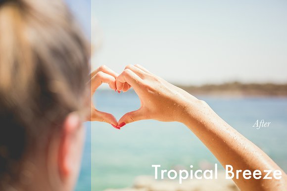 Tropical Breeze - Lightroom Preset