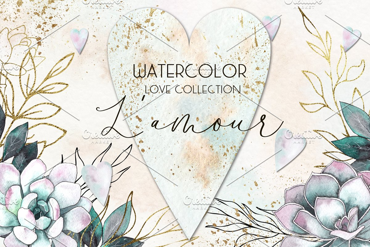 L'amour. Love collection