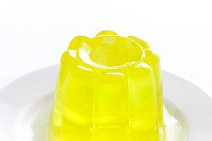Yellow gelatin