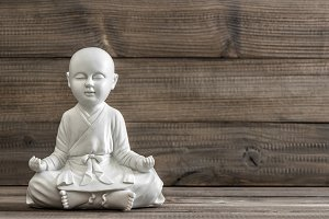 Sitting buddha. Meditation. Relaxing