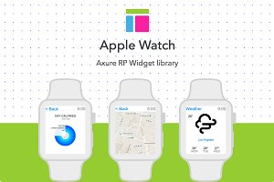 Axure widget library / Apple Watch