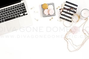 Styled Photo - Girly Desk Theme