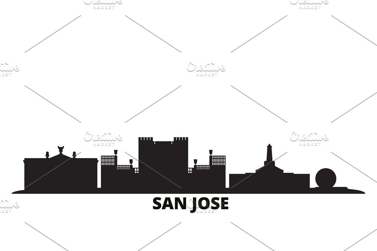 Costa Rica, San Jose city skyline