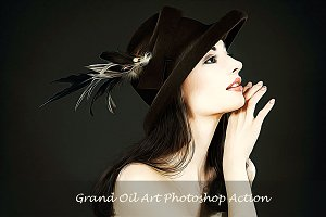Grand Oil Art Painting Effect
