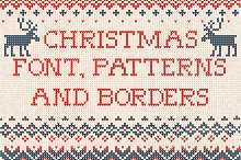 Knitted FONT and patterns (w)
