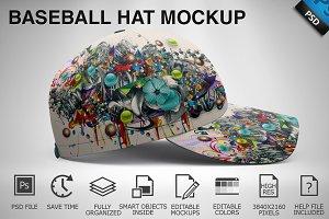 Baseball Hat Mockup 03