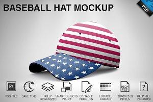 Baseball Hat Mockup 05