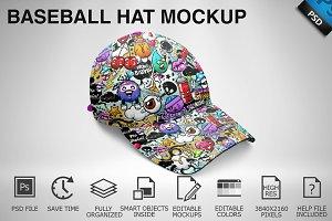 Baseball Hat Mockup 06