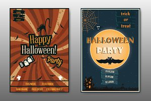 A3 Halloween posters