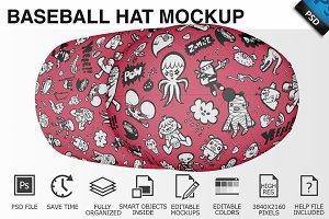 Baseball Hat Mockup 07