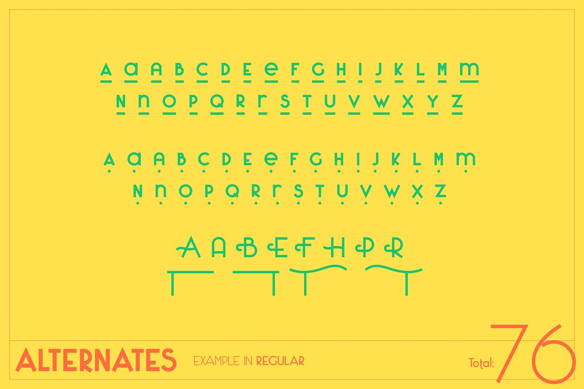 Saxo Grammaticus Font + Extras in Sans-Serif Fonts - product preview 3