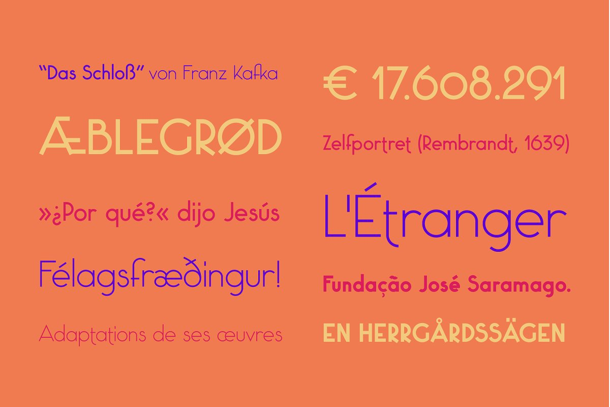 Saxo Grammaticus Font + Extras in Sans-Serif Fonts - product preview 7