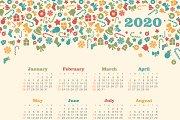 Calendar 2020 year