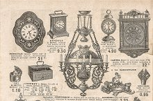 Engraving antique victorian objects