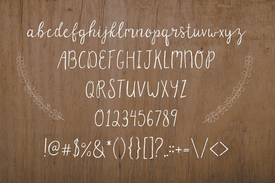 Parsnips Handwritten Script in Script Fonts - product preview 6