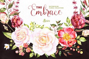 The Embrace. Floral Collection.