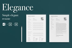 Elegance | Simple Elegant Resume