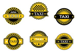 Taxi symbols and signs