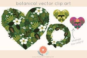 Vector Botanical Clip Art