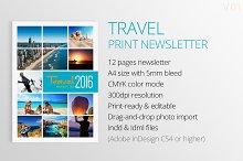 Travel Print Newsletter