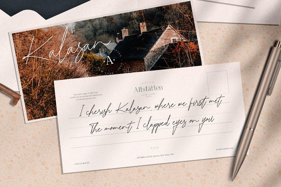 Katrina Signature in Script Fonts - product preview 5