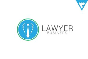 Lawyer Business Logo