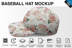 Baseball Hat Mockup 01