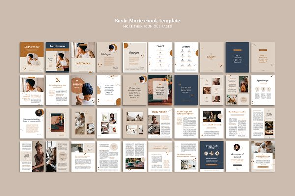 eBook / CANVA, INDD / Kayla